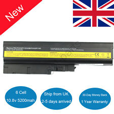 Battery for IBM Lenovo Thinkpad T60 T61 R60 R61 R500 T500 W500 R61e R61i T60p UK