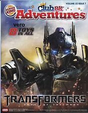 2011 ad poster BK Burger King TRANSFORMERS Dark Of The Moon advertisement print