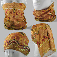Thai traditional pattern Multi Scarf Neck Bandana Mask Skull Tubu Cycling AA091