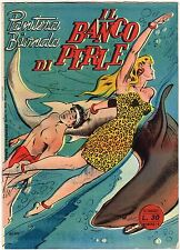 fumetto PANTERA BIONDA ANNO 1954 COLLANA JUNGLA AVVENTUROSA NUMERO 14 EDICOLA