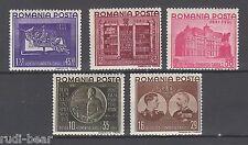 Rumänien Nr.   686-90  */ ** Stiftung König Karl I