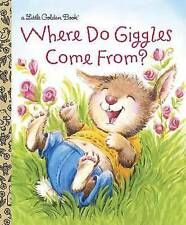 NEW HARDCOVER LITTLE GOLDEN BOOK ~ WHERE DO GIGGLES COME FROM?