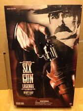 "Sideshow Toys Six Gun Legends Series 1 Wyatt Earp 12"" Action Figure 2001 NIP"