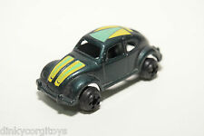HONG KONG MARX OR YATMING OR PLAYART VW VOLKSWAGEN BEETLE KAFER GREY NEAR MINT