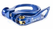 NEW KEIRIN CYCLE SEATPOST CLAMP - MTB & ROAD BIKE - QUICK RELEASE 34.9mm BLUE