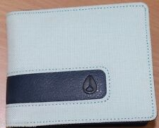 Men's Nixon Showdown Bi-Fold Mint Nylon Wallet. RRP $39.99. NWT.