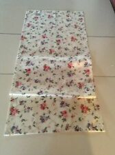 Handmade Pink Floral  Laura Ashley Fabric Table Runner 16 x 52 .5 ins