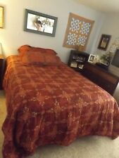 King Size comforter set/with curtains