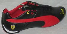 PUMA FUTURE CAT LEATHER SF-10- SCUDERIA FERRARI BLACK/RED MEN SHOES SIZE 8.5