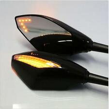 LED Turn Signal Mirrors Honda VFR 800 2002-2009 2003 2004 2005 02 03 04 05 06 07