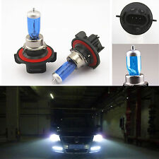 2 Pcs H13 9008 Super White Xenon HID Headlight Bulbs Low/High Beam 12V 65W/55W
