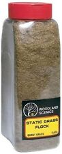 Woodland Scenics FL633 Static Grass Flock Burnt Grass 32 oz Shaker - NIB