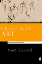 Philosophy of Art: A Contemporary Introduction (Routledge Contemporary Introduct