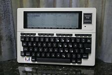 Tandy 102 Radio Shack Vintage Portable Laptop Computer Great Condition FREE S&H