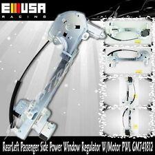 Rear Right Passenger Side Power Window Regulator W/Motor for 00-05 Buick LeSabre