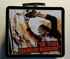 New Texas Chainsaw Massacre Tin Lunch Box Collectible Horror Movie Lunchbox
