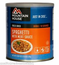 1 Can - Spaghetti with Meat Sauce -Mountain House Freeze Dried Emergency Food
