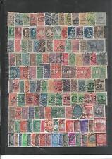 130 Briefmarken Sammlung Deutsches Reich Posthorn Infla Bayern DR gestempelt Lot