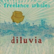 Diluvia [Digipak] Freelance Whales CD Spitting Image Locked Out Winter Seeds OOP