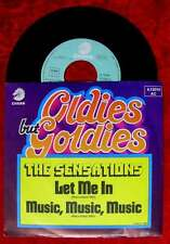 Single Sensations: let me In / Music Music Music