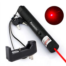 Cat Toy Red Laser Pointer Pen 5mw 650nm Red Laser Pointer + Battery+Charger Xmas