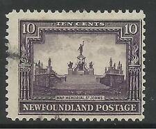NEUFUNDLAND 1928. 10c Deep Violett Perf 13-1/2 - 14. SG: 172. Gut Verwendet