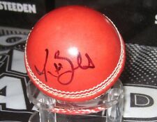 Trent Boult (New Zealand) signed Red Cricket Ball + COA & Photo Proof