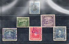 El Salvador Valores del año 1912-47 (CS-653)