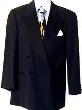 Orig. Hugo Boss Hochzeit Smoking Anzug Mod. Armstrong Blues RAR Schwarz Gr. 46 S