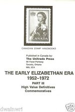 """Canadian Stamp Handbooks: ""Early Elizabethan 1952-1972, Pt 2"": by Michael Milos"