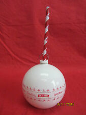 white ltd edt Smirnoff Gordons Captain Morgan cocktail drinks bauble cup & straw