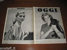 OGGI 1955/28=MARIA SCHELL=ELENA FANCERA=BUSSETO GUARESCHI=LUDMILLA TCHERINA=