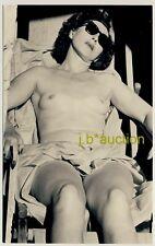 Nudism MATURE NUDE WOMAN w SUNGLASSES * Private 60s Photo * Privates FKK Aktfoto