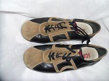 CAMPER Mujeres Negro/Marrón Zapatos De Cordones Talla Uk 5 EU 38 en muy buena condición