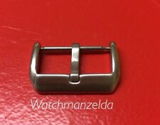 20MM Compact Thick Pin Buckle Brushed Panerai /Hamilton Style