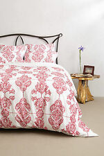 NEW Anthropologie ~ CARAPELLE 5 PC SET~ 1 KING DUVET+ 2 STANDARD + 2 EURO SHAMS