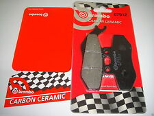 PASTIGLIE FRENO ANTERIORI BREMBO CARBON 07012 MALAGUTI PASSWORD 250 2006