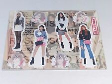 Black Pink Standing Paper Doll Korean Pop Star Paper Doll Jennie Jisoo Rose Lisa