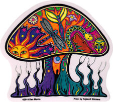 Dan Morris Mushroom - Window Art Sticker / Decal