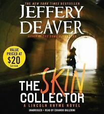 THE SKIN COLLECTOR unabridged audio book on CD by JEFFERY DEAVER