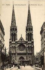 CPA PARIS 19e - Eglise de St-Jean-Baptiste de Belleville (301969)