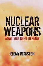 Nuclear Weapons: What You Need to Know-ExLibrary
