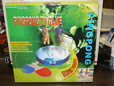 INTERACTIVE TV PINGPONG GAME  NEW IN BOX