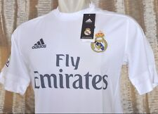 REAL MADRID Shirt Home 2015-2016 sz Xtra Large *Adult BNWT with Vinyl (bag)