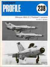 AERONAUTICA AIRCRAFT Publications Profile 238 - Mikoyan MiG21 Fishbed -  DVD