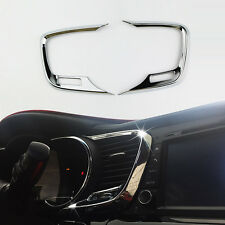 Chrome Interior Center Console Side Air Vent Cover for 2011-2015 Kia K5 Optima Q