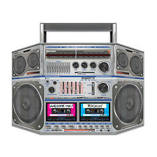 BOOMBOX Boom Box Cassette Stereo JAM Totally 80's PHOTO PROP  Birthday Party Dec