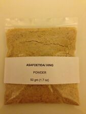 Asafoetida/ Hing Powder,strong  & natural, Ramdev  Brand 50 gm (1.7 oz)