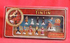 Série de 11 fèves TINTIN. Coffret collector Paramount 2011  dont une fève géante