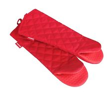 Honla 17-Inch Extra Long Oven Mitts with Silicone GripHeat Resistant to 500 F...